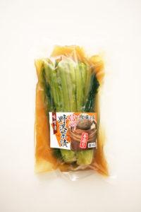 野沢菜味噌漬け
